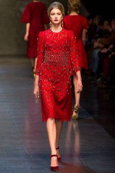 Dolce & Gabbana  Moda invierno 2013 Fashion Tendencias