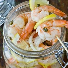 Southern Style Pickled Shrimp | 24 Of The Most Delicious Things You Can Do To Shrimp