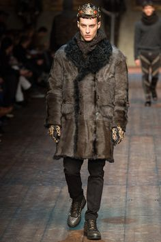 Dolce and Gabbana Fall-Winter 2014 Men's Collection