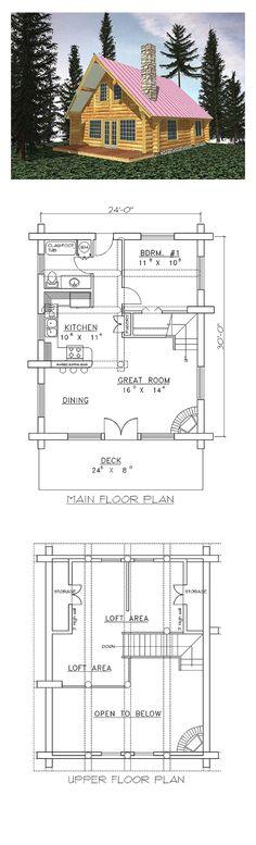 50 Best Log Home Plans Images