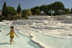Pamukkale Thermal Pools. Turkey.