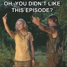 The Walking Dead ~ Daryl and Beth - Didn't like episode? Oh well!