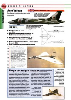 Avro Vulcan (1952) Military Jets, Military Aircraft, Avro Vulcan, Delta Wing, War Thunder, French Magazine, Royal Air Force, Aircraft Carrier, Royal Navy