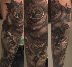 Dark rose - elbow
