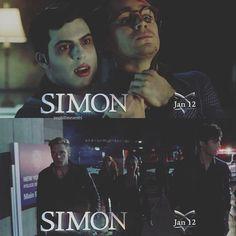 """SCREENCAPS: #Shadowhunters Character: Simon."""