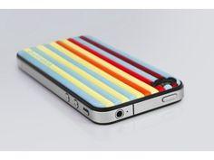 id-America Cushi Stripe Soft Foam Pad for iPhone4/4S
