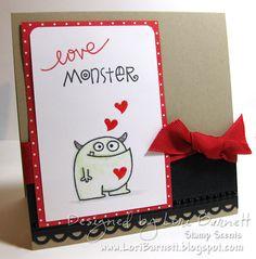 Paper Smooches - Love Monster