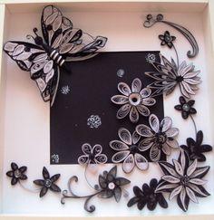 Composition en blanc et noir de Maria Cvetanova. Photo uniquement