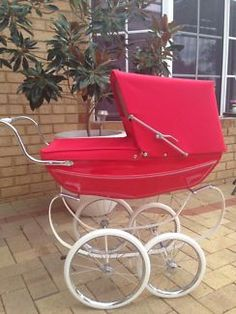 Vintage Pram, Prams And Pushchairs, Dolls Prams, Baby Buggy, Baby Carriage, Wheelbarrow, Baby Strollers, Children, Walking