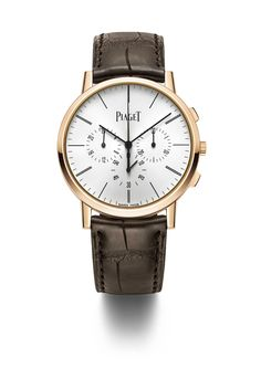 Pre SIHH 2015 - Please welcome the thinnest chrono flyback aka the Piaget Altiplano Chronograph