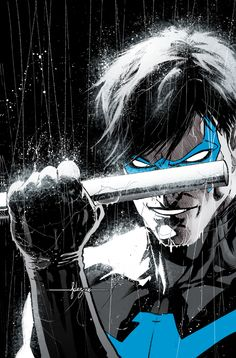 Buy Nightwing Vol. 1 (Rebirth) by Jimmy Palmiotti at Mighty Ape NZ. Nightwing is back.in blue! He's been Robin, he's been a super spy, a ghost. Now, Dick Grayson finds himself back in Gotham City fighting to reclaim. Batgirl, Batwoman, Dc Rebirth, Titans Rebirth, Arte Dc Comics, Comic Books Art, Comic Art, Book Art, Batman Universe