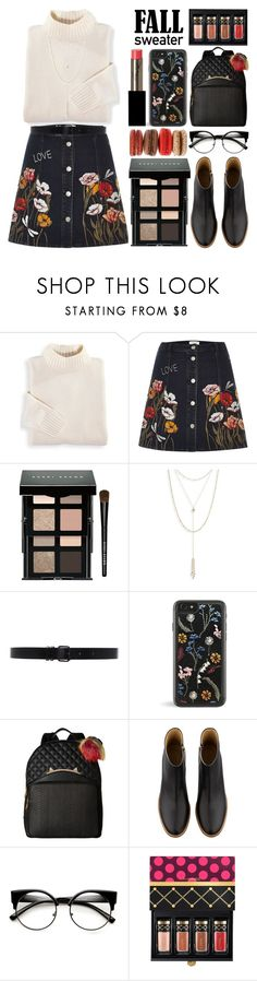 """Cozy Fall Sweaters"" by grozdana-v ❤ liked on Polyvore featuring Blair, River Island, Bobbi Brown Cosmetics, Jules Smith, Ann Demeulemeester, Betsey Johnson, A.P.C., MAC Cosmetics, Laura Mercier and fallsweaters"