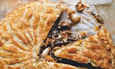 Yotam Ottolenghi's mushroom and tarragon pithivier recipe: 'wonderfully rich and aniseedy'. Photograph: Jonathan Lovekin for the Guardian