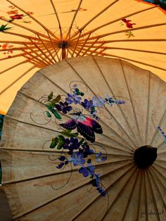 Love to buy great big parasols, and use them to shield me from the sun while I garden.