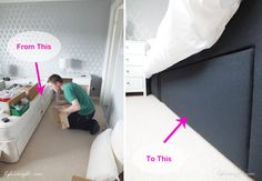 Re-covering a divan base bed.. need to do this.