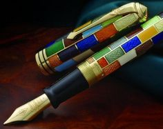 Conway Stewart Elite Centenary 18ct Gold Fountain Pen