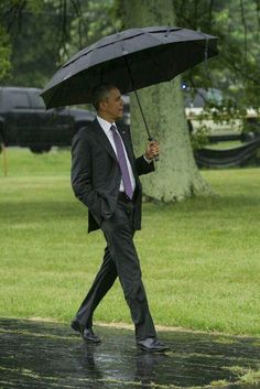 Singing in the Rain - We miss our Greatest President so much.