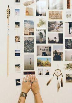 DIY Projekt - Fotowand selber machen