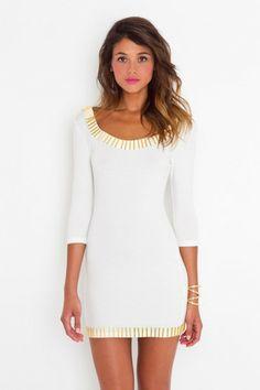 White dress--simple cute--