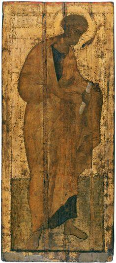 Троице-Сергиева лавра. Деисус из Троицкого собора. Апостол Петр