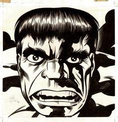 themarvelageofcomics:  Image from the 1978 HULK Calendar by Jack Kirby and Joe Sinnott