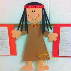 cute Native American art