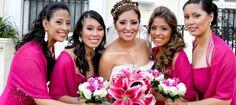 La novia y sus damas de Monica Goytendía Atelier Floral | Foto 3