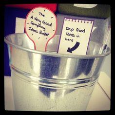 Ideas bucket