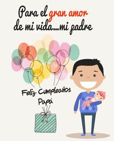 Feliz Cumpleaños Papa - Parte 2 - Real Tutorial and Ideas Happy Birthday Quotes, Birthday Messages, Fathers Day Crafts, Happy Fathers Day, Happy B Day Cards, Papa Quotes, I Love You Words, Bride Of Christ, Birthday Crafts