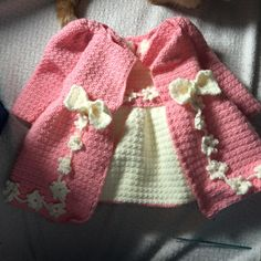 Baby Sweaters, Crochet For Kids, Crochet Projects, New Baby Products, Projects To Try, Knitting, How To Wear, Dresses, Baby Style