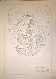 herbert weihnachten bleistift doodeln in marl juli. Black Bedroom Furniture Sets. Home Design Ideas