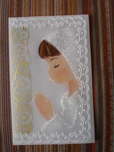 estampa de primera comunion First Communion Cards, First Holy Communion, Parchment Design, Diy And Crafts, Paper Crafts, Parchment Cards, Baptism Favors, Religious Symbols, Felt Patterns