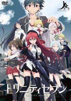Trinity Seven (Arata, Akio, Mira, Arin, Yui, Levi, Lilith, and Lieselotte)