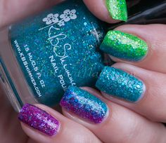KBShimmer Textured Rainbow - ChitChat Nails