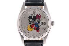 Rolex Oyster Precision Date Mickey Mouse Stahl Handaufzug 35mm Ref.6694 Vintage in Uhren & Schmuck, Armband- & Taschenuhren, Armbanduhren | eBay