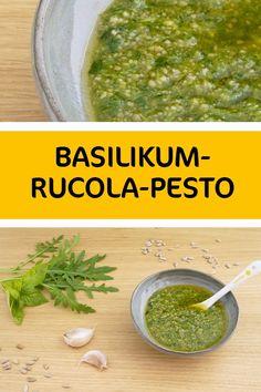 Super schnell gemacht, kann dieses köstliche Pesto auch im Kühlschrank aufbewahrt werden und wenn man mal keine Zeit zum Kochen hat einfach aus dem Hut gezaubert werden. Super, Cantaloupe, Fruit, Food, Basil, Glutenfree, Easy Meals, Kochen, Hoods