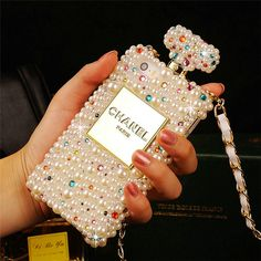 Buy Wholesale Classic Chanel Perfume Bottle Crystal Case Red lips Diamond Cover for iPhone 6 - Pink from Chinese Wholesaler - hibay.gd.cn