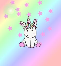 Be sparkly and kawaii** Unicorn Fantasy, Unicorn Horse, Unicorn Art, Cute Unicorn, Rainbow Unicorn, Unicorn Images, Cartoon Unicorn, Mulan And Shang, Unicorn And Glitter