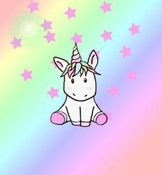 Vive les licornes arc en ciel <3 , faite de beau rêve les enfants :*