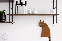 Oravanpesä | Striped Tail Cat by Herman Marie