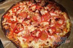 Vynikající lehké jídlo. Pokud nevíte odolat italskému jídlu a jste na pizzi závislý, připravte si klidně takovou zdravou variantu. Autor: Karambola Keto Recipes, Cooking Recipes, Healthy Recipes, Healthy Meals, A Food, Food And Drink, Hawaiian Pizza, Pepperoni, Lchf