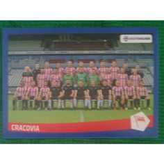 Football Soccer Sticker Panini Polska Ekstraklasa 2016 #20 KS Cracovia #gotgotneed