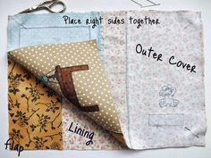 SewforSoul: Appliqued Journal Tutorial