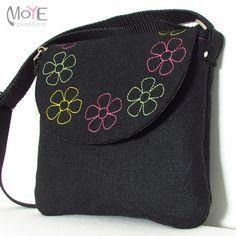 Filcowa torba na ramię - listonoszka - Moye-rekodzielo