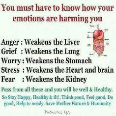 Warning re: Emotions