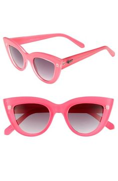 Pink kitten sunglasses--finding hard to resist.