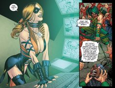Injustice #16 with Harley Quinn and Green Arrow