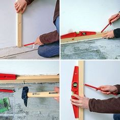 How to install a wall tile? Decoration Originale, Basement Stairs, Metal Furniture, Architect Design, Ainsi, Wall Tiles, Construction, House Design, Tableware