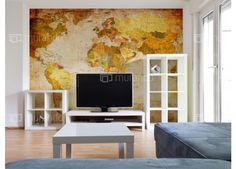 Mapa světa papyrus #tapety #homedesign #travel