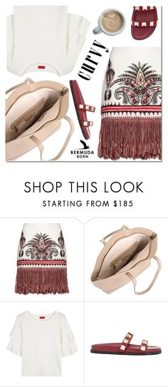"""""""Untitled #3354"""" by mada-malureanu ❤ liked on Polyvore featuring Rachel Zoe, HUGO and Valentino"""